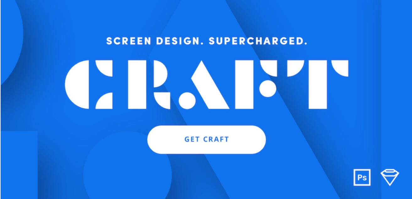 Screen Design, Super Charged, Craft, Get Craft